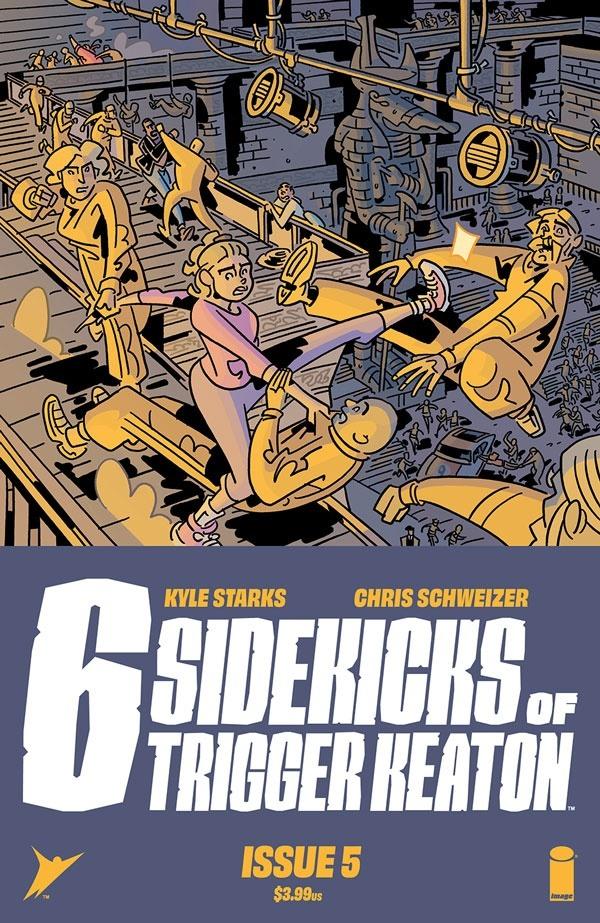 sixsidekicks05 Image Comics October 2021 Solicitations