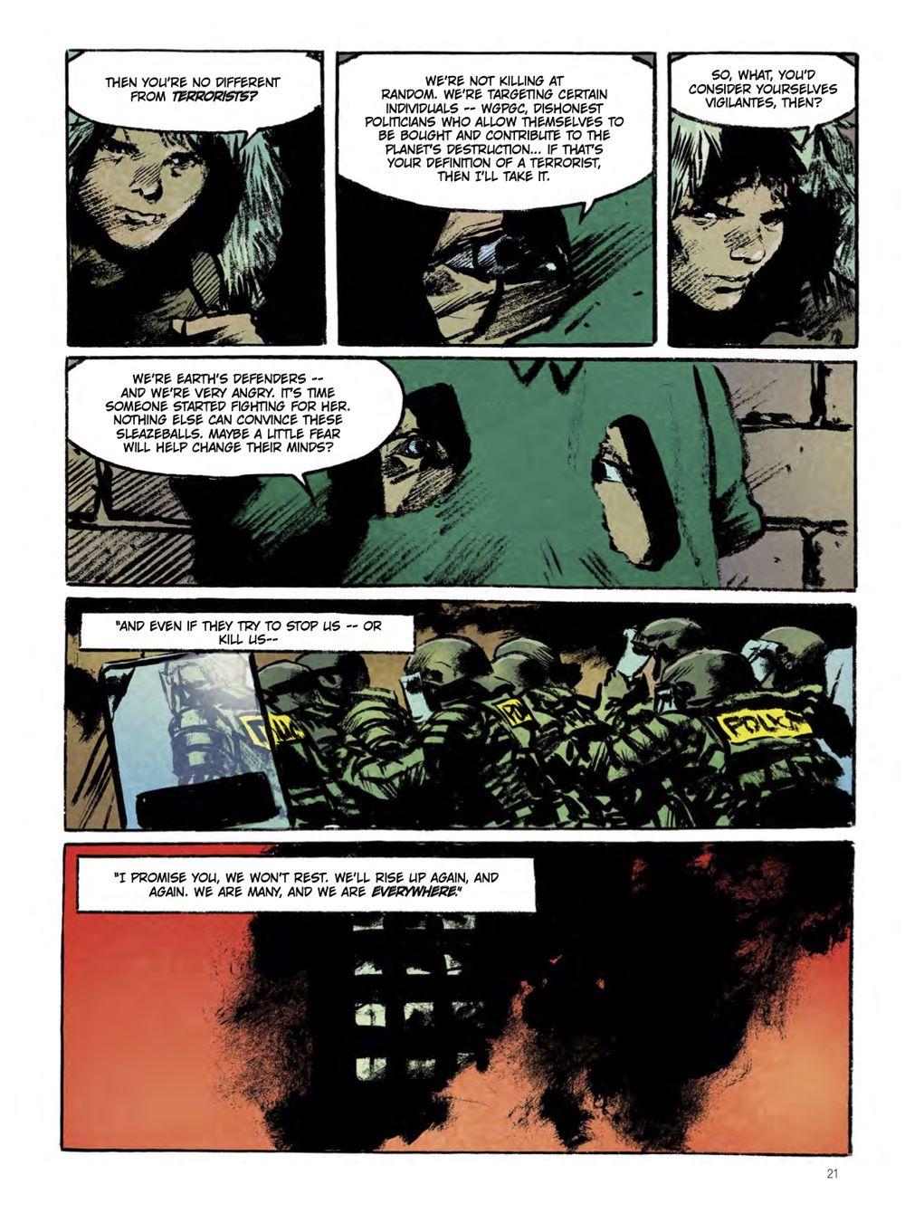 snowpiercer_the_prequel-extinction-2 ComicList Previews: SNOWPIERCER PREQUEL VOLUME 1 EXTINCTION GN