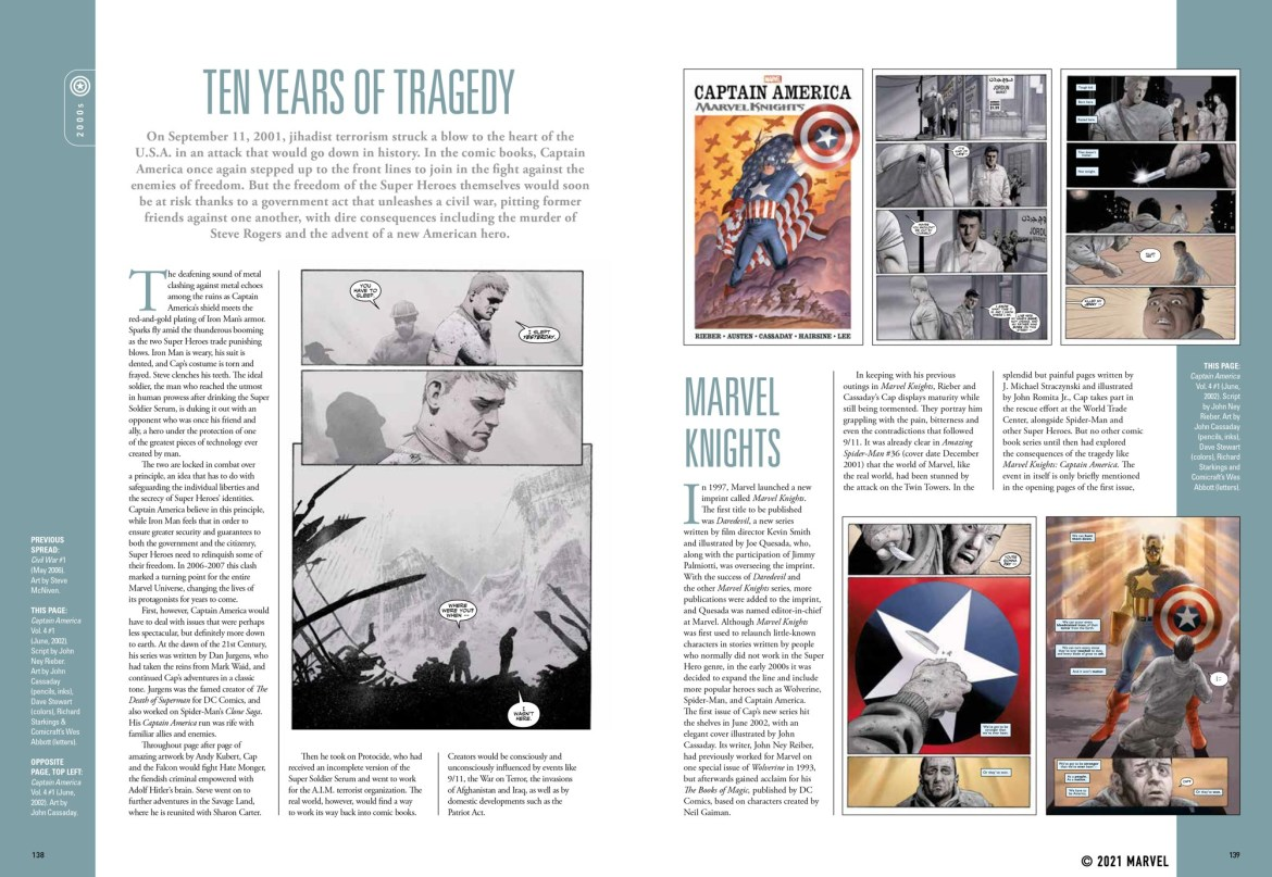 spread_7 ComicList Previews: MARVEL COMICS CAPTAIN AMERICA THE FIRST 80 YEARS