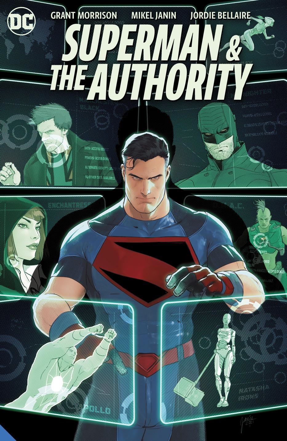 supermanandtheauthority_adv DC Comics October 2021 Solicitations
