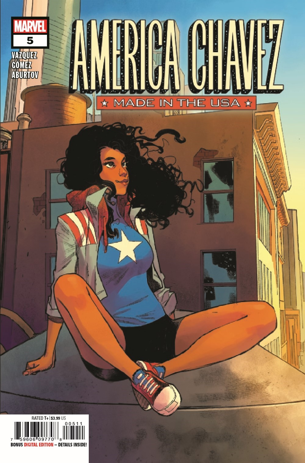 AMERCHAVEZUSA2021005_Preview-1 ComicList Previews: AMERICA CHAVEZ MADE IN THE U.S.A. #5 (OF 5)