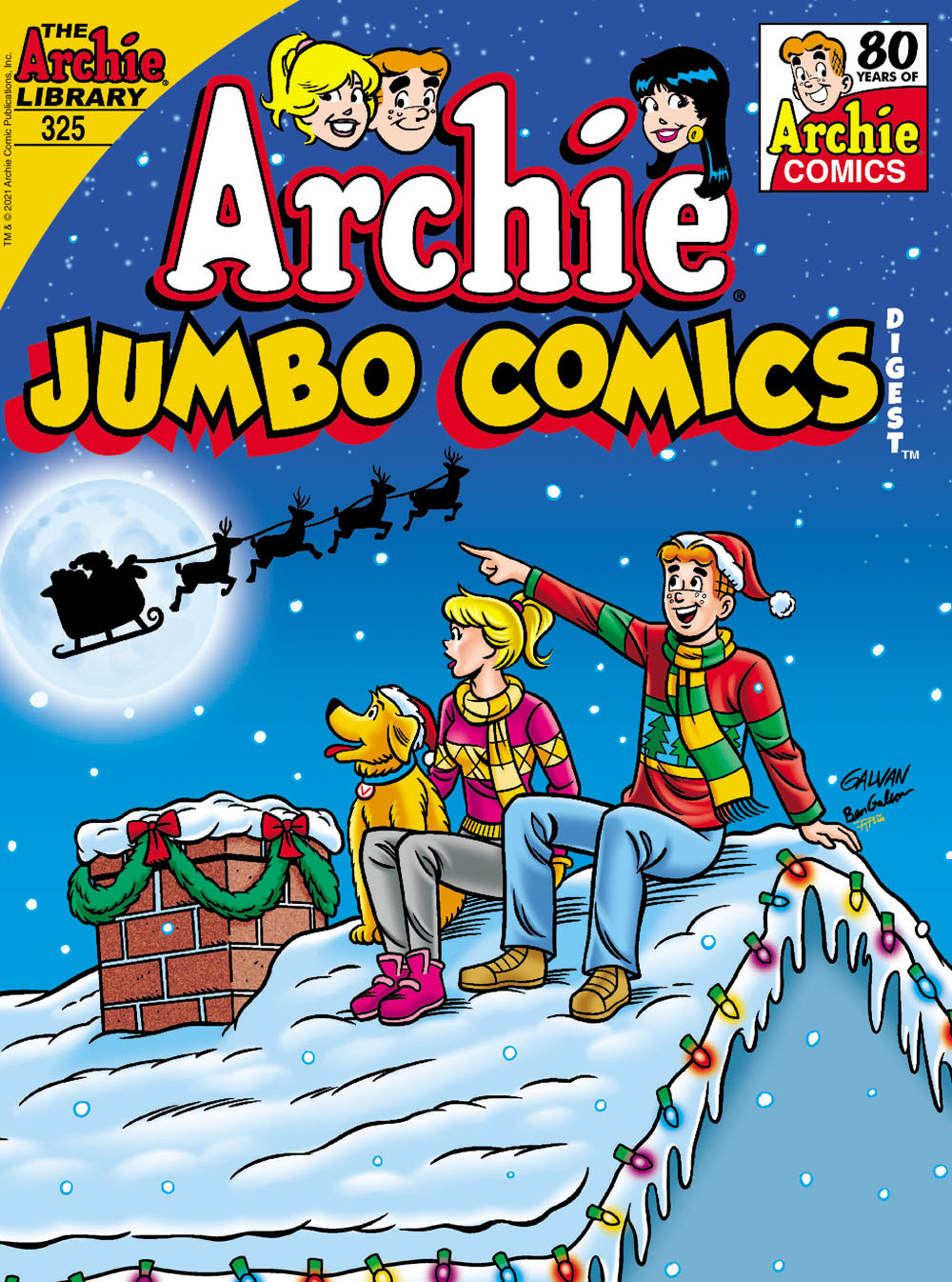 ARCHIEJumbo325 Archie Comic Publications November 2021 Solicitations
