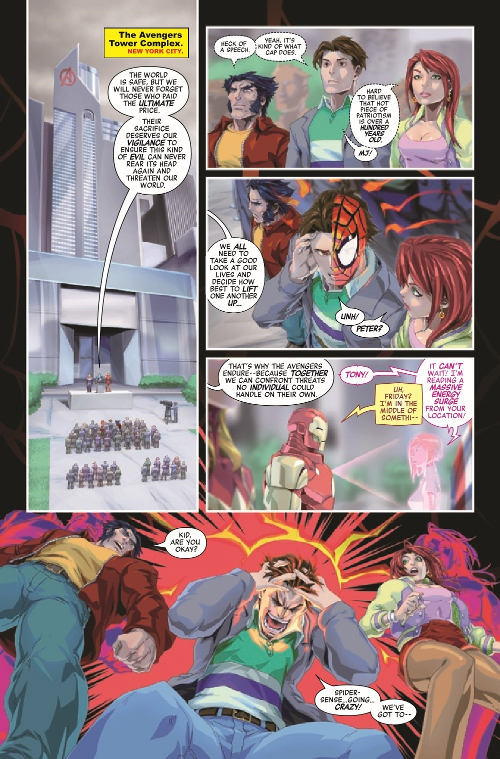 AVENTECHON2021001_Preview-5 ComicList Previews: AVENGERS TECH-ON #1 (OF 6)