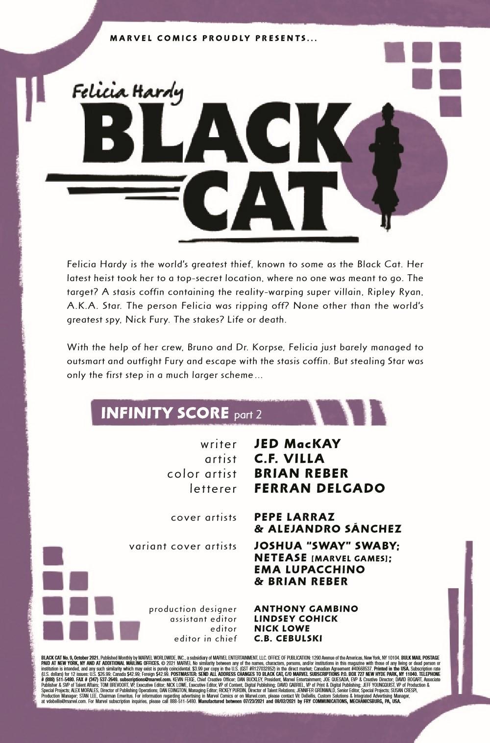 BLACKCAT2020009_Preview-2 ComicList Previews: BLACK CAT #9