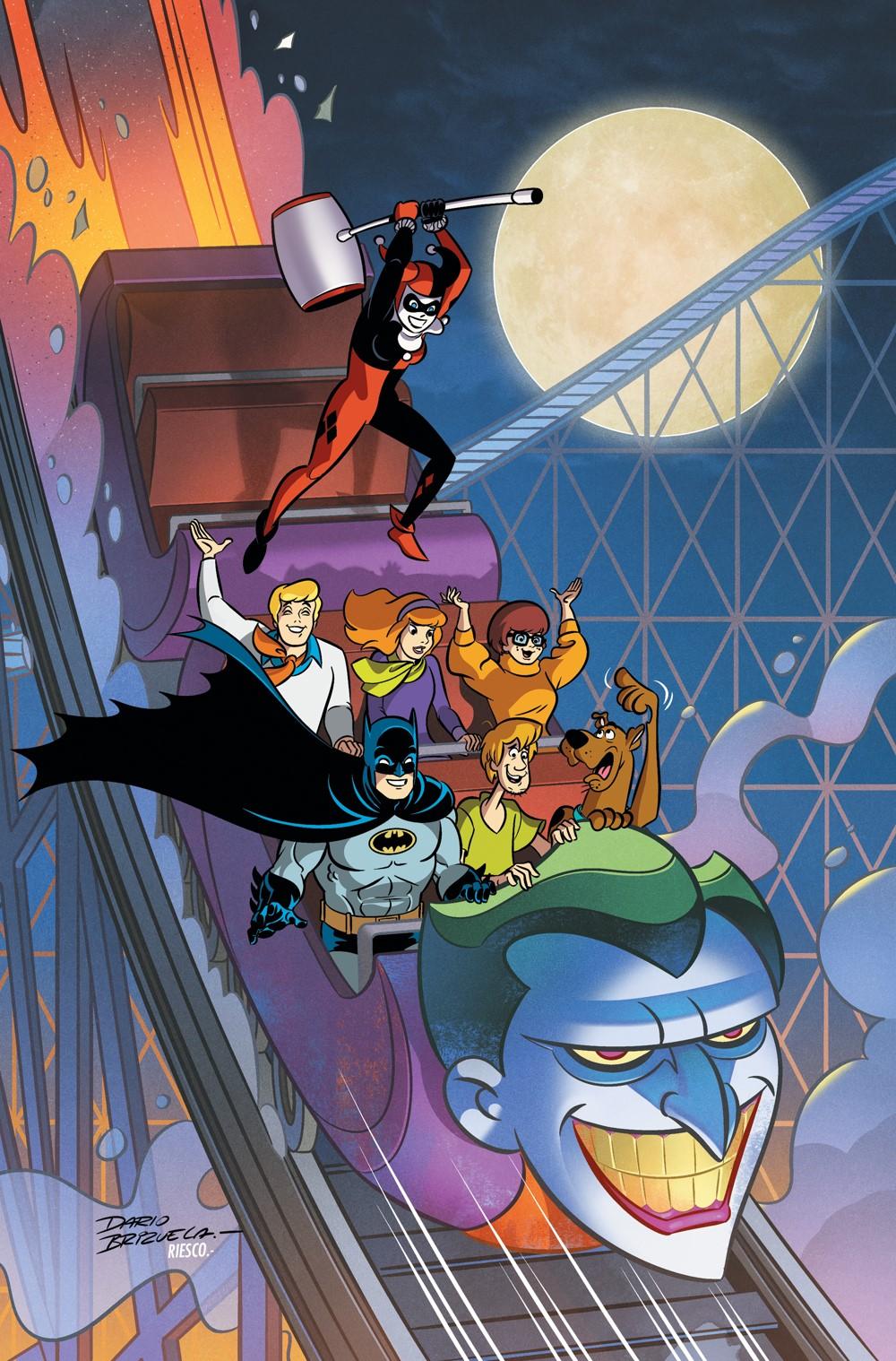 Batman-Scooby-Doo-Mysteries-Cv8 DC Comics November 2021 Solicitations
