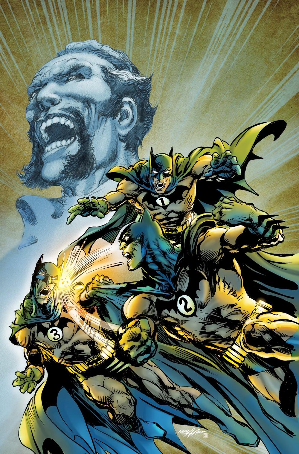 Batman-vs-Ras-al-Ghul-Trade DC Comics November 2021 Solicitations