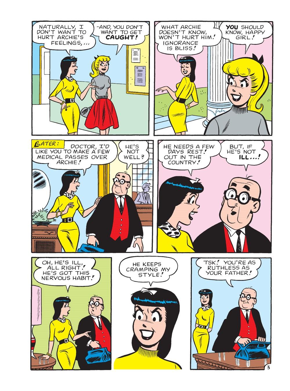 BettyAndVeronicaJumboComicsDigest_296_64 ComicList Previews: BETTY AND VERONICA JUMBO COMICS DIGEST #296