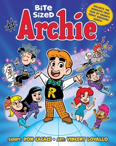 Bite_Sized_Archie_Vol_1_COVER_Colors-239x300 BITE SIZED ARCHIE to deliver a smorgasbord of entertainment