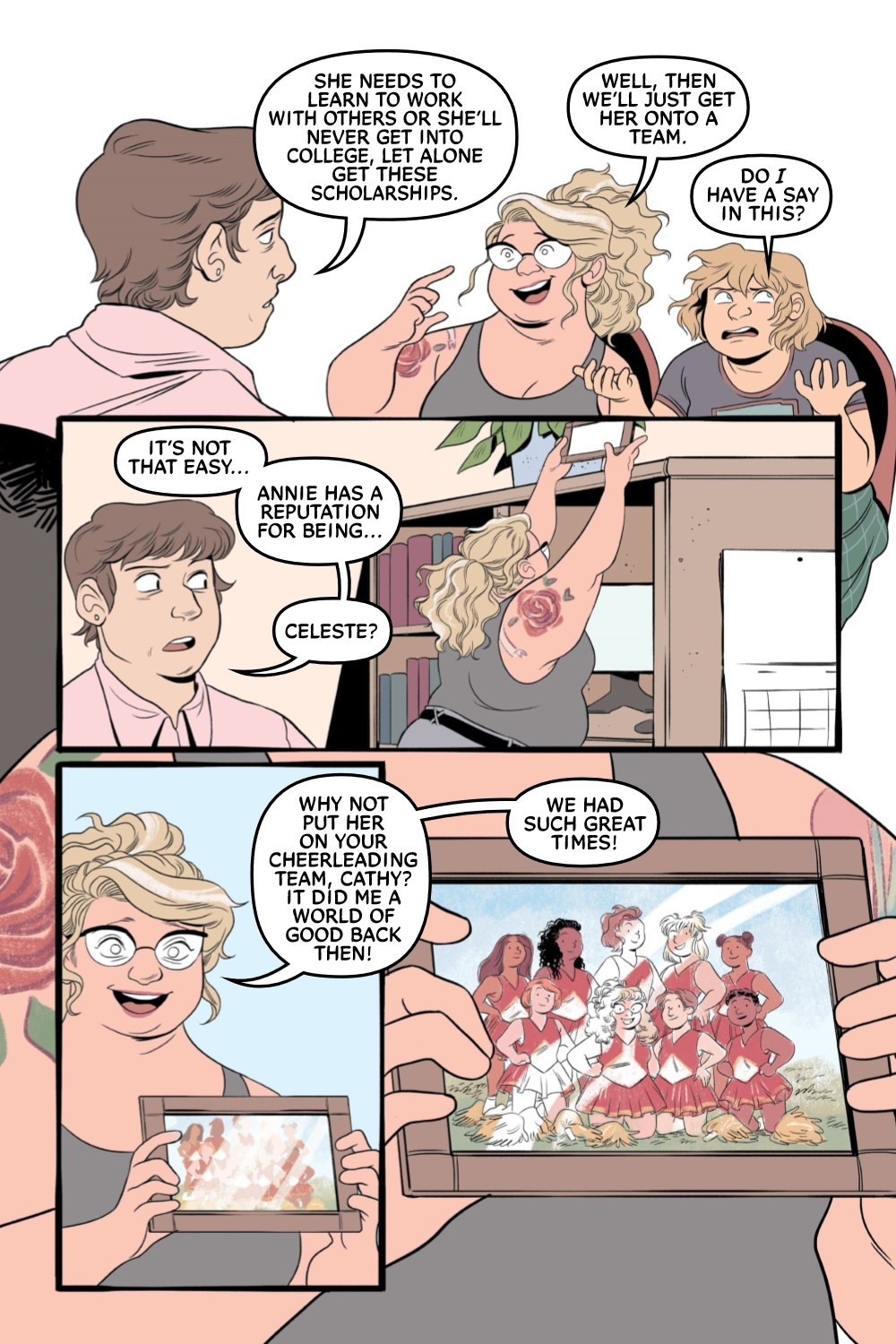 CHEERUP-REFERENCE-008 ComicList Previews: CHEER UP LOVE AND POM POMS TP