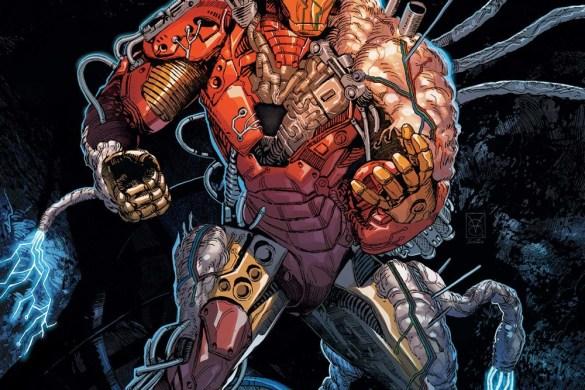 DARKHOLDIM2021001_cvr Iron Man and Blade battle THE DARKHOLD this October