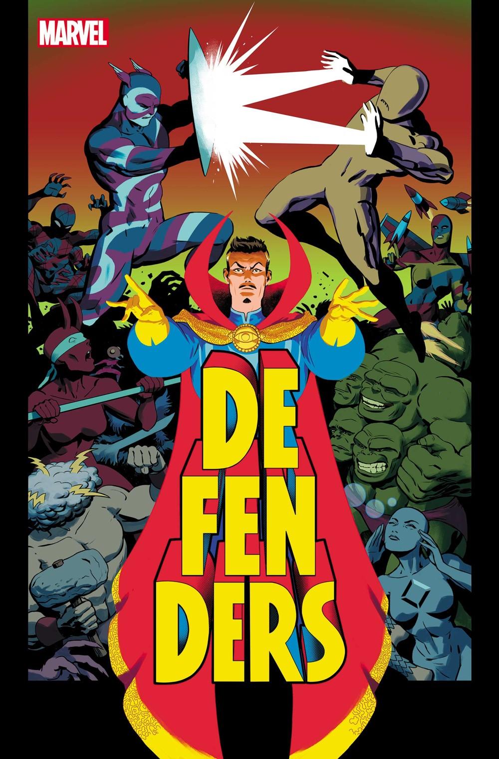 DEFEND2021004_Cov Marvel Comics November 2021 Solicitations
