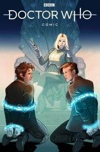 DW_BadWolf_1_01_COVERA-198x300 The Eighth and Eleventh Doctors unite in EMPIRE OF THE WOLF