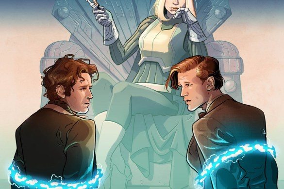 DW_BadWolf_1_01_COVERA The Eighth and Eleventh Doctors unite in EMPIRE OF THE WOLF