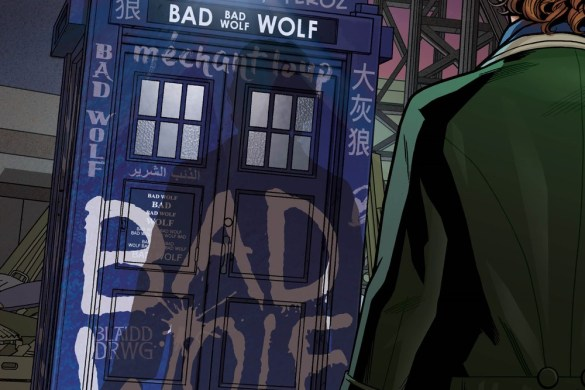 DW_BadWolf_1_01_COVERD The Eighth and Eleventh Doctors unite in EMPIRE OF THE WOLF