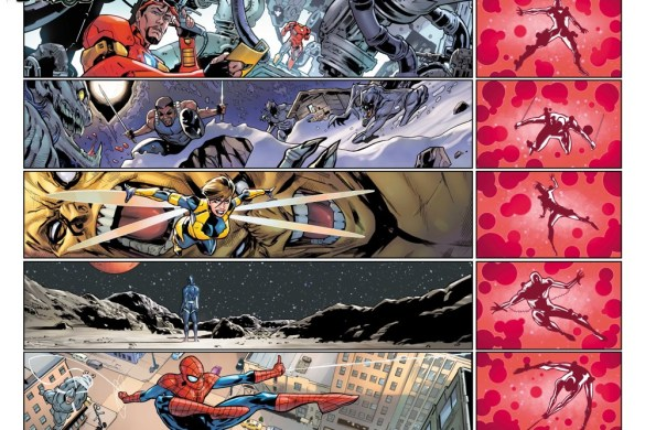 Darkhold_Alpha_1 Iron Man and Blade battle THE DARKHOLD this October