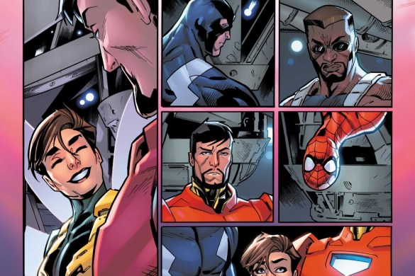 Darkhold_Alpha_2 Iron Man and Blade battle THE DARKHOLD this October