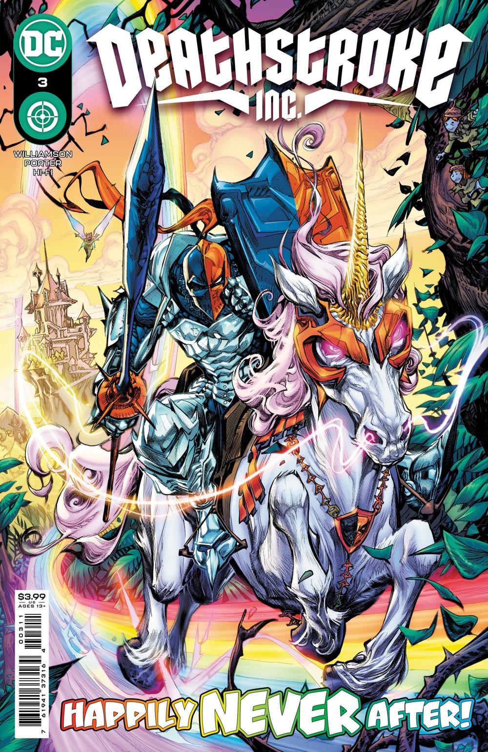Deathstroke_INC_Cv3 DC Comics November 2021 Solicitations