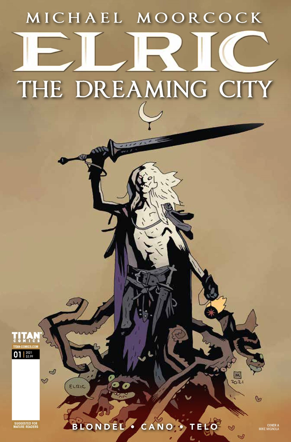 Elric_1_Cover_A ComicList Previews: ELRIC THE DREAMING CITY #1