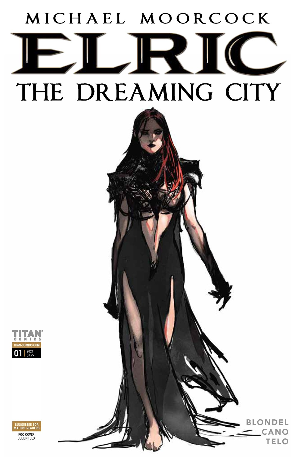Elric_1_Cover_E ComicList Previews: ELRIC THE DREAMING CITY #1