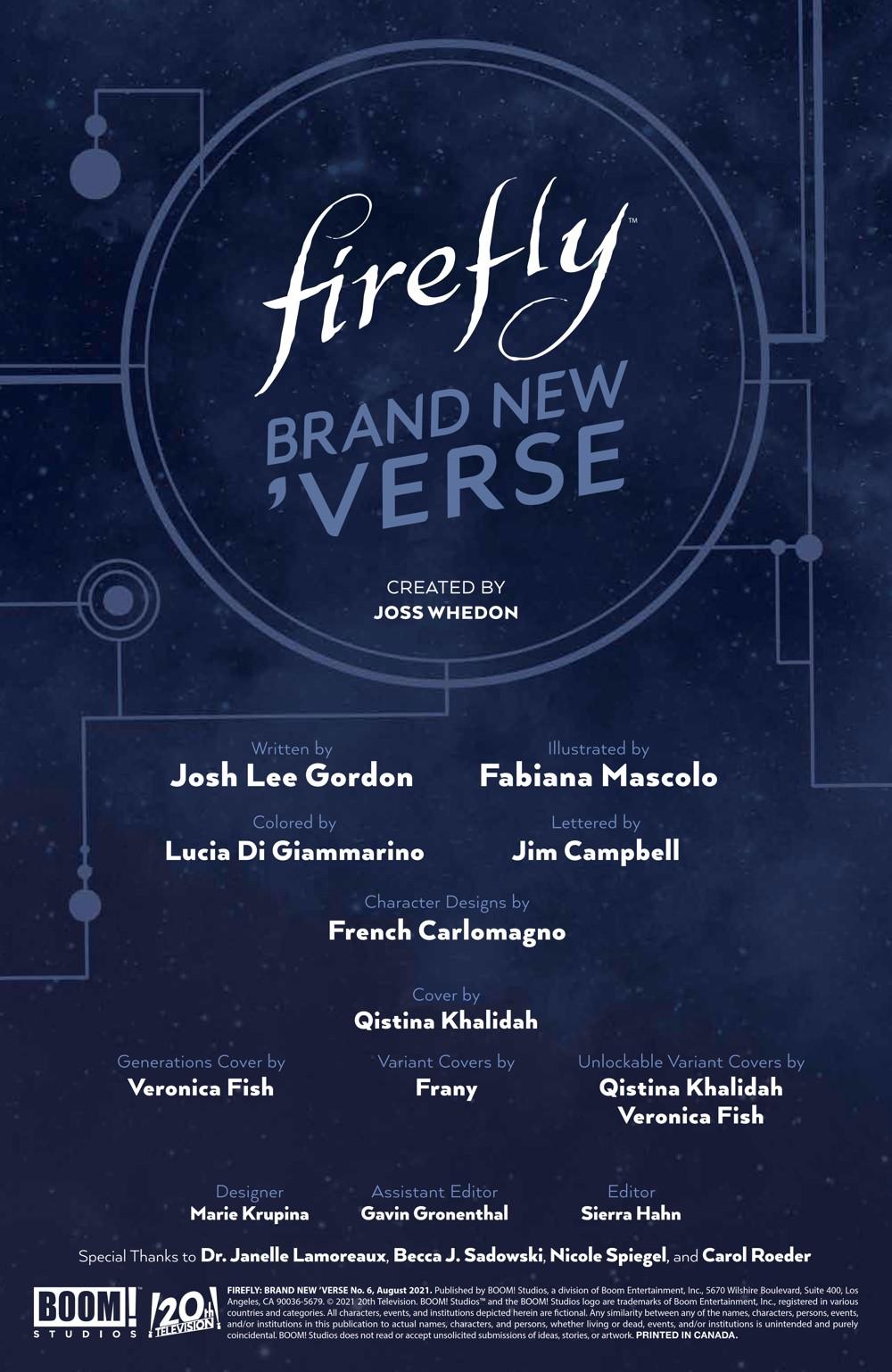 Firefly_BrandNewVerse_006_PRESS_2 ComicList Previews: FIREFLY BRAND NEW 'VERSE #6 (OF 6)