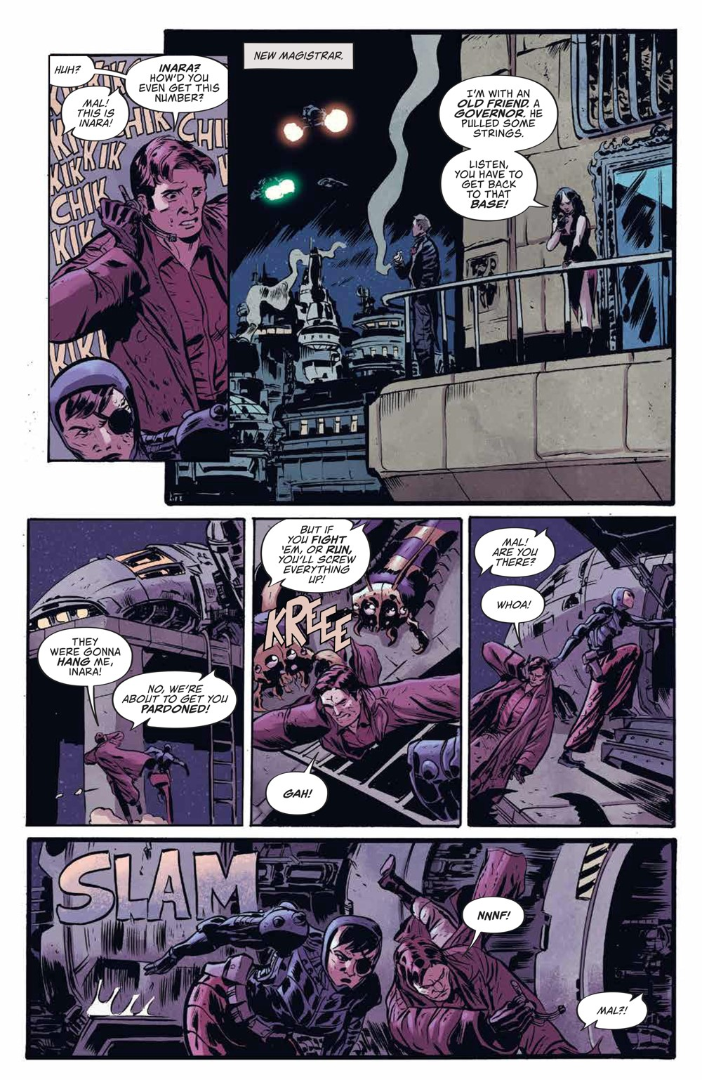 Firefly_v3_SC_PRESS_12 ComicList Previews: FIREFLY THE UNIFICATION WAR VOLUME 3 TP