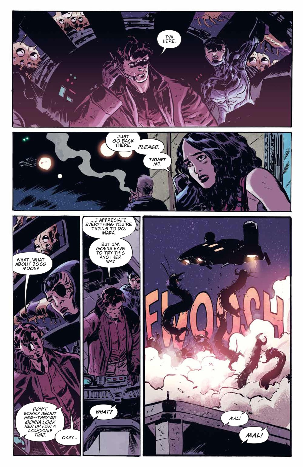 Firefly_v3_SC_PRESS_13 ComicList Previews: FIREFLY THE UNIFICATION WAR VOLUME 3 TP
