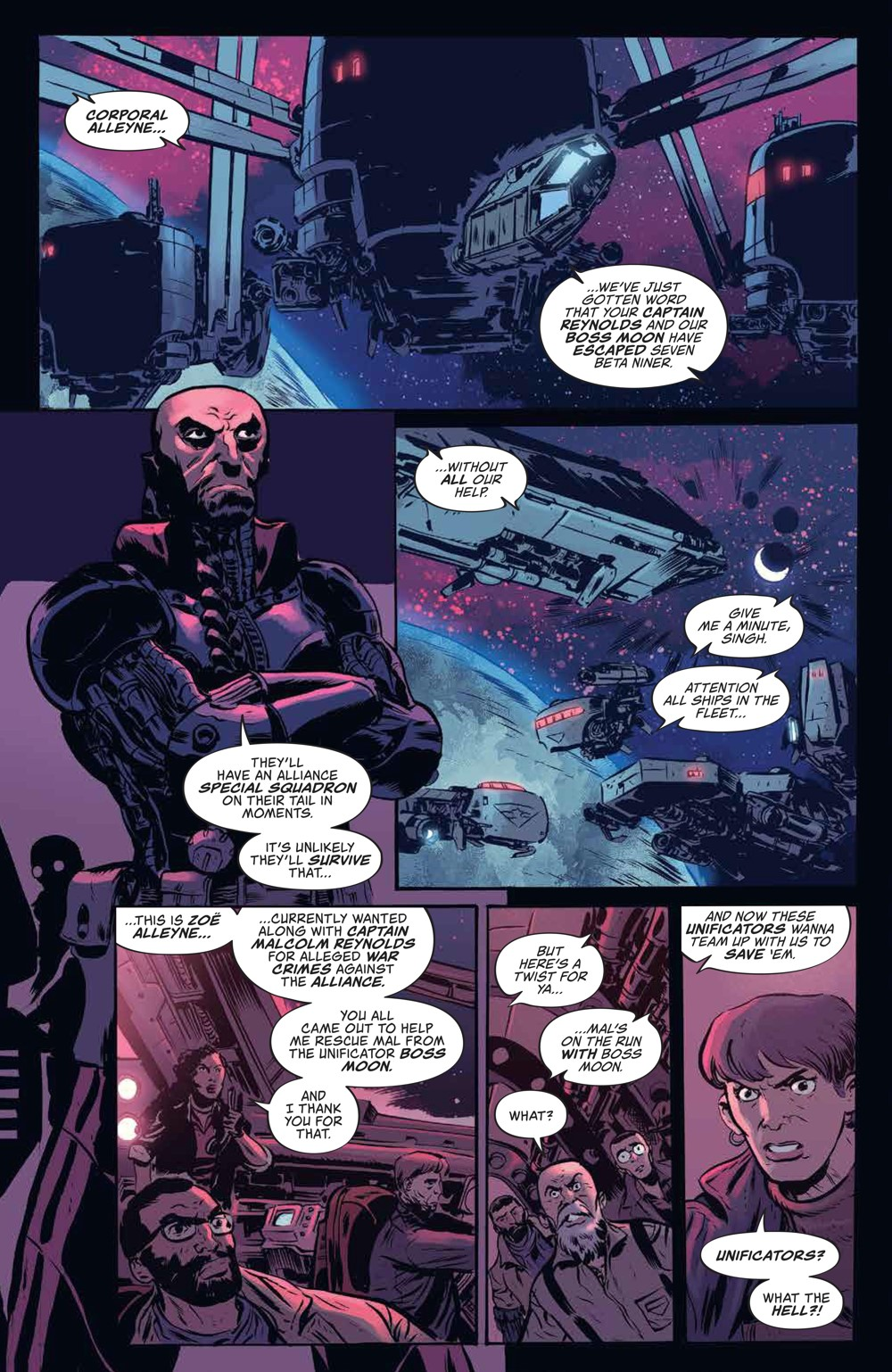Firefly_v3_SC_PRESS_14 ComicList Previews: FIREFLY THE UNIFICATION WAR VOLUME 3 TP