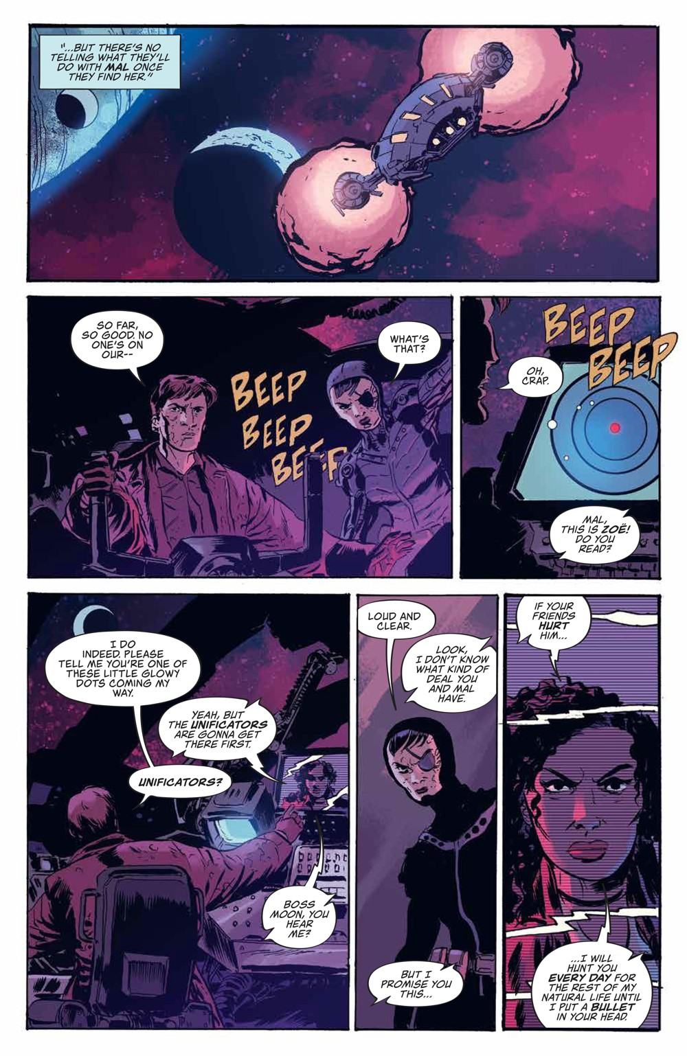 Firefly_v3_SC_PRESS_19 ComicList Previews: FIREFLY THE UNIFICATION WAR VOLUME 3 TP