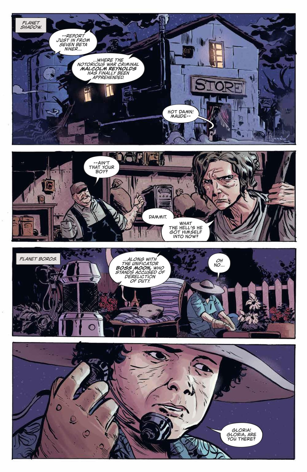 Firefly_v3_SC_PRESS_9 ComicList Previews: FIREFLY THE UNIFICATION WAR VOLUME 3 TP