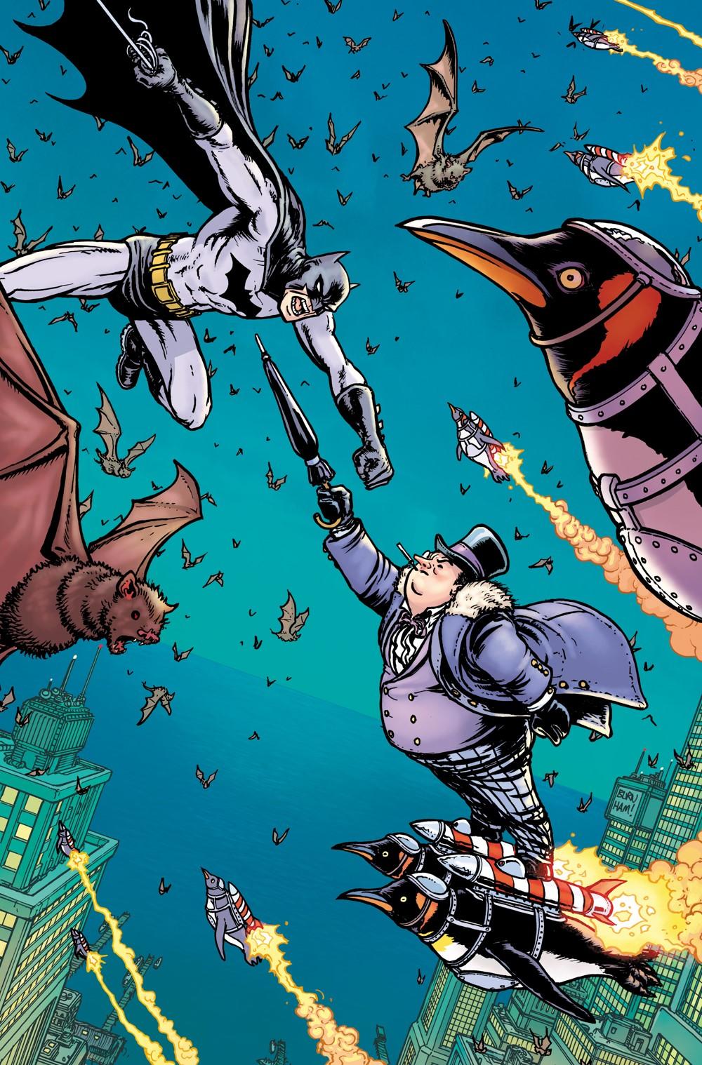 GOTHAM-CITY-VILLAINS-BURNHAM-RATIO DC Comics November 2021 Solicitations