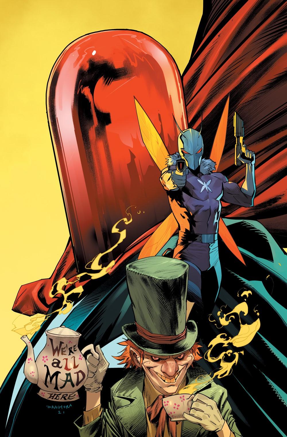 GOTHAM-VILLAINS-VARIANT_MORA DC Comics November 2021 Solicitations