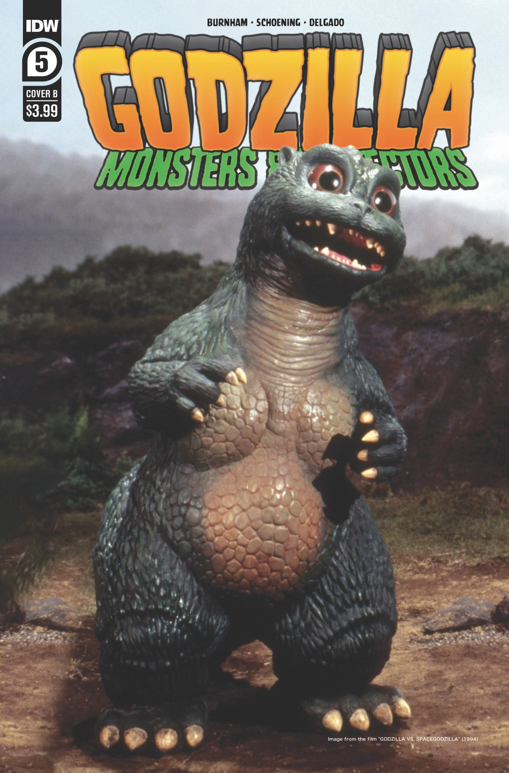 Godzilla_MP05-coverB ComicList: IDW Publishing New Releases for 08/18/2021