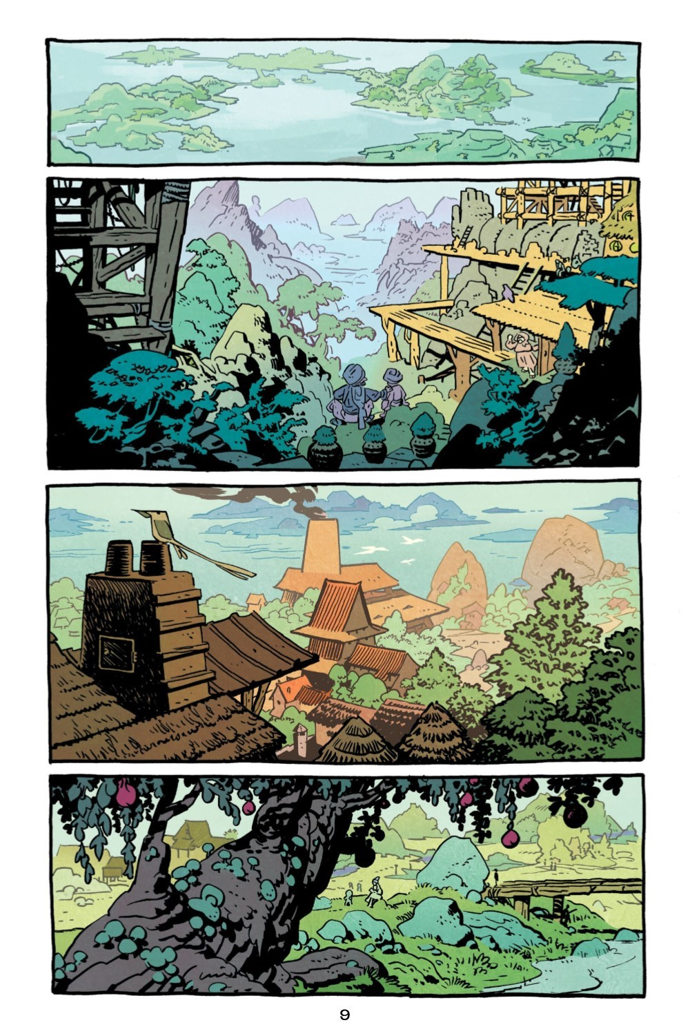 JONNA-V1-REFERENCE-010 ComicList Previews: JONNA AND THE UNPOSSIBLE MONSTER VOLUME 1 TP