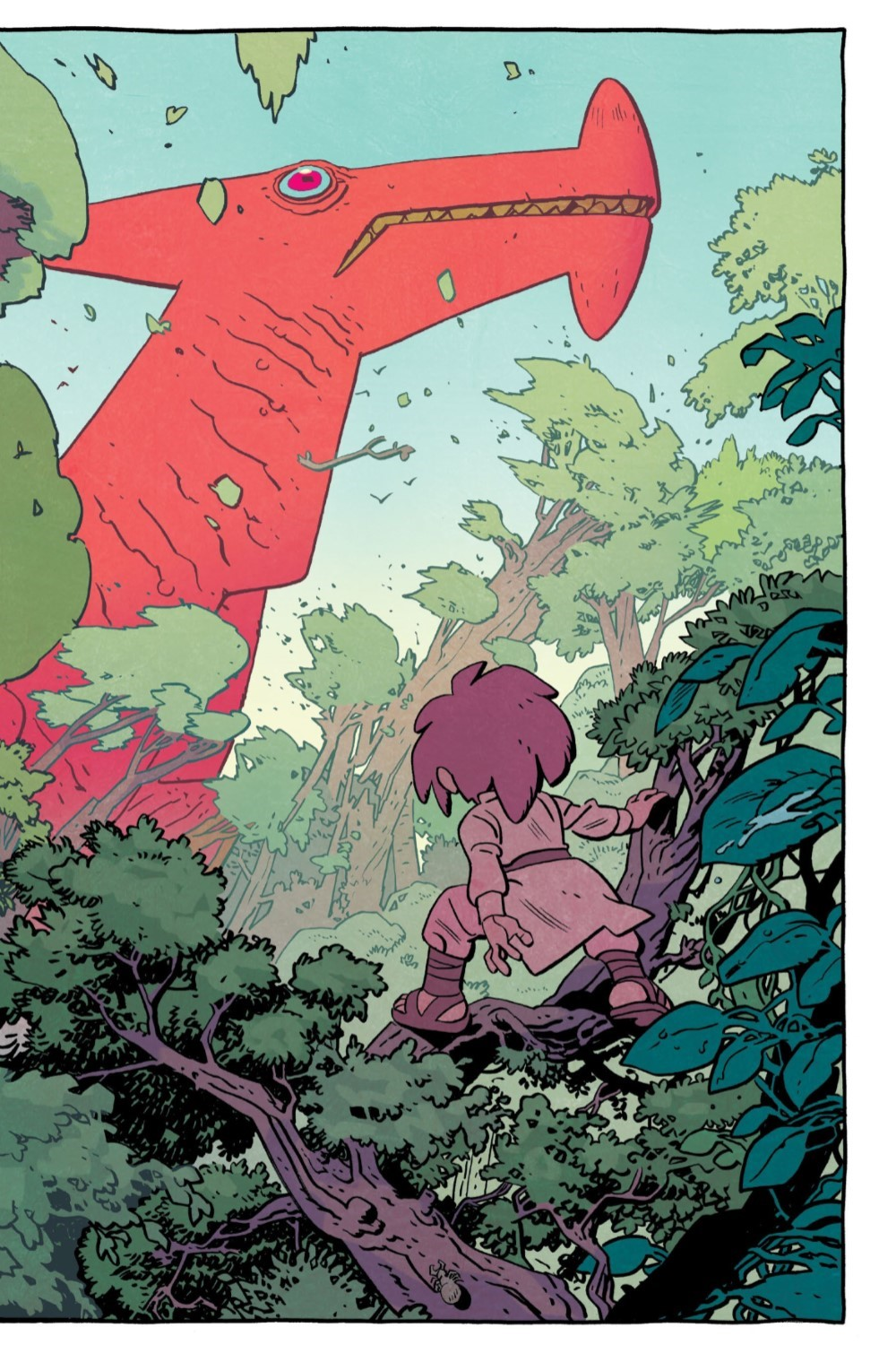JONNA-V1-REFERENCE-016 ComicList Previews: JONNA AND THE UNPOSSIBLE MONSTER VOLUME 1 TP