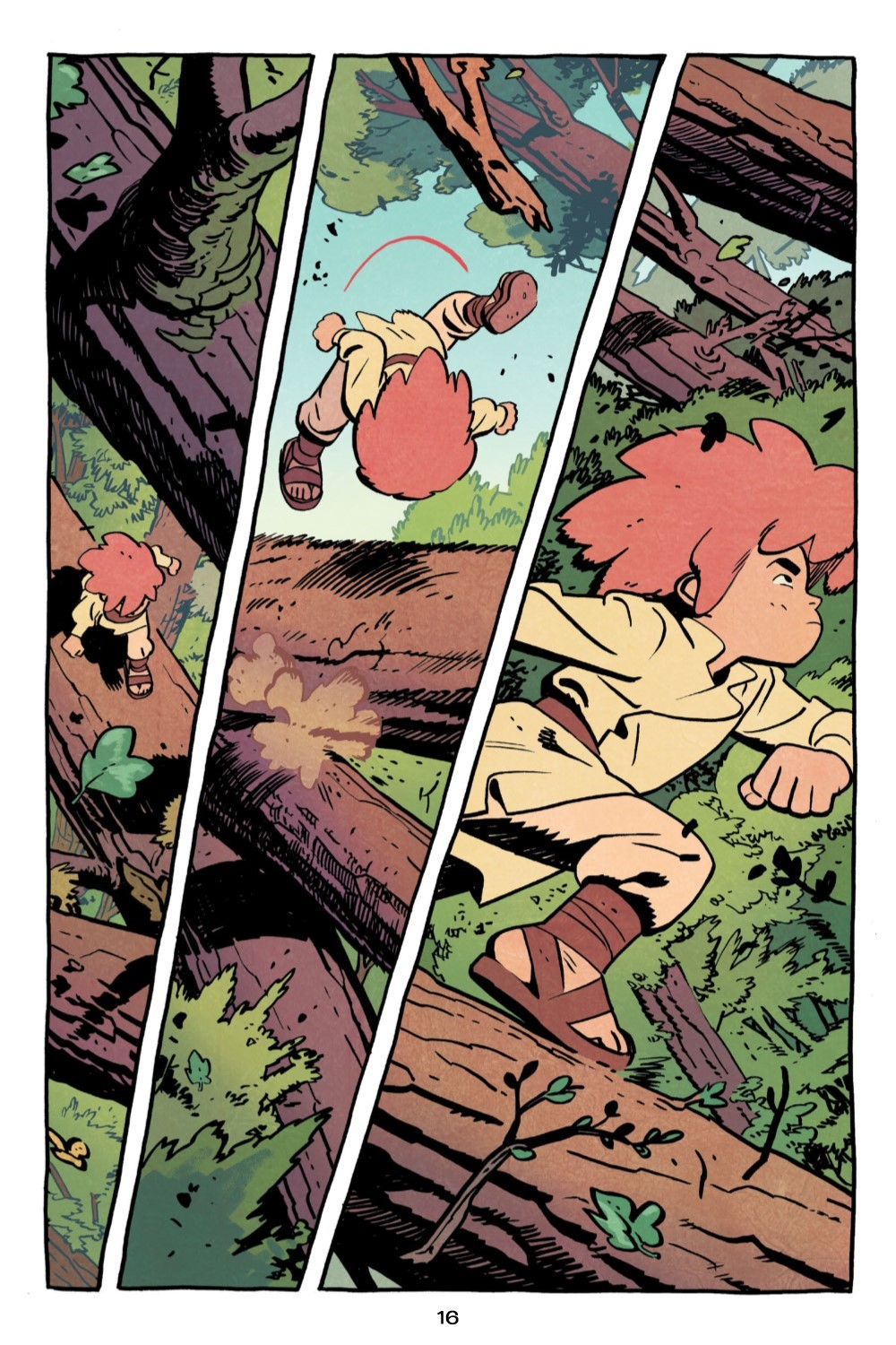 JONNA-V1-REFERENCE-017 ComicList Previews: JONNA AND THE UNPOSSIBLE MONSTER VOLUME 1 TP