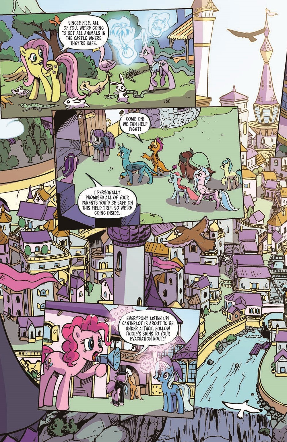 MLP101-pr-4 ComicList Previews: MY LITTLE PONY FRIENDSHIP IS MAGIC #101