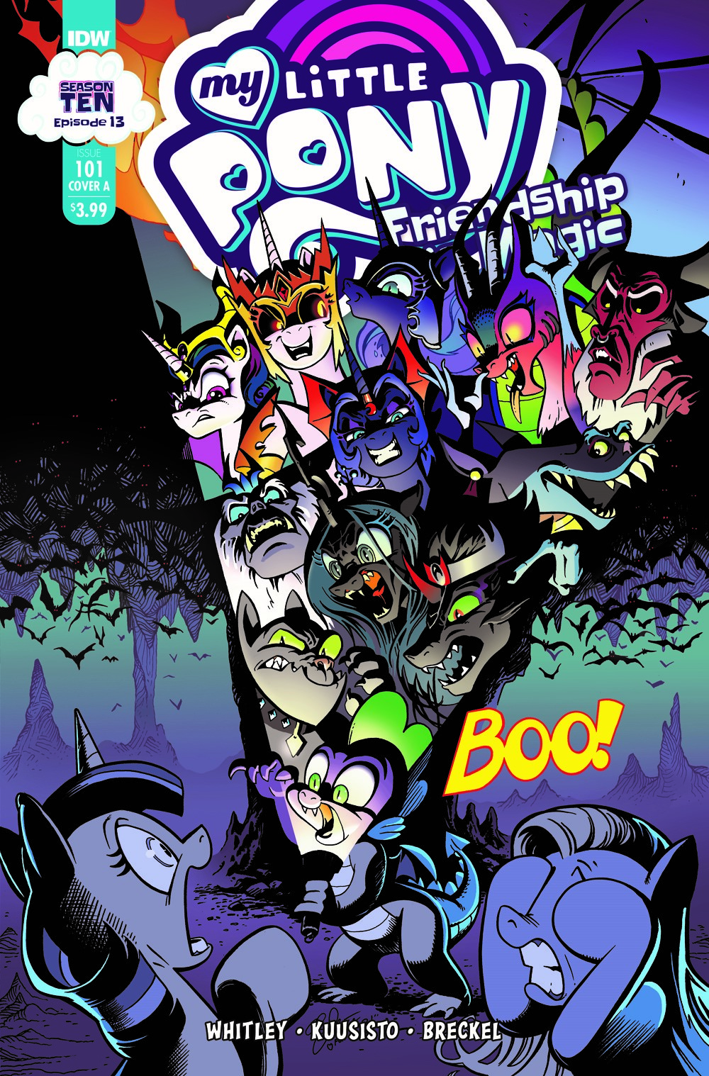 MLP101_13-coverA ComicList Previews: MY LITTLE PONY FRIENDSHIP IS MAGIC #101