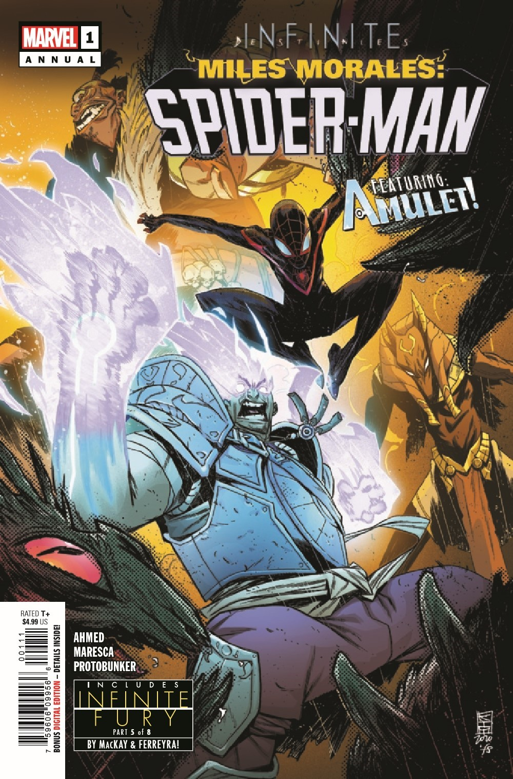 MMSMANN2021001_Preview-1 ComicList Previews: MILES MORALES SPIDER-MAN ANNUAL #1