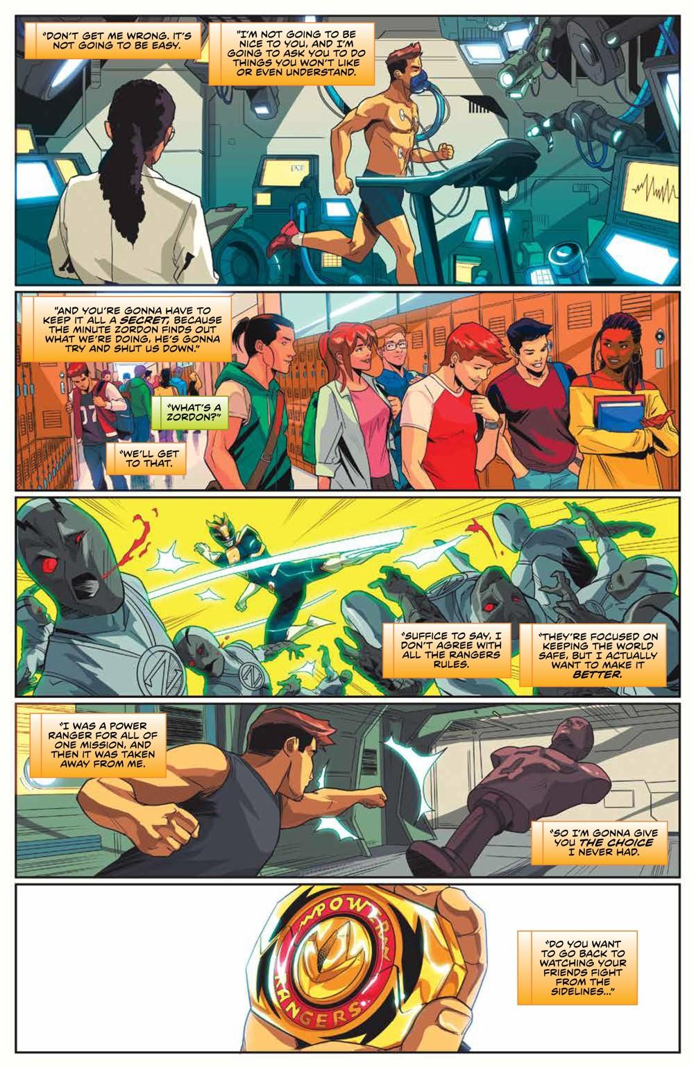 MightyMorphin_v2_SC_PRESS_15 ComicList Previews: MIGHTY MORPHIN VOLUME 2 TP