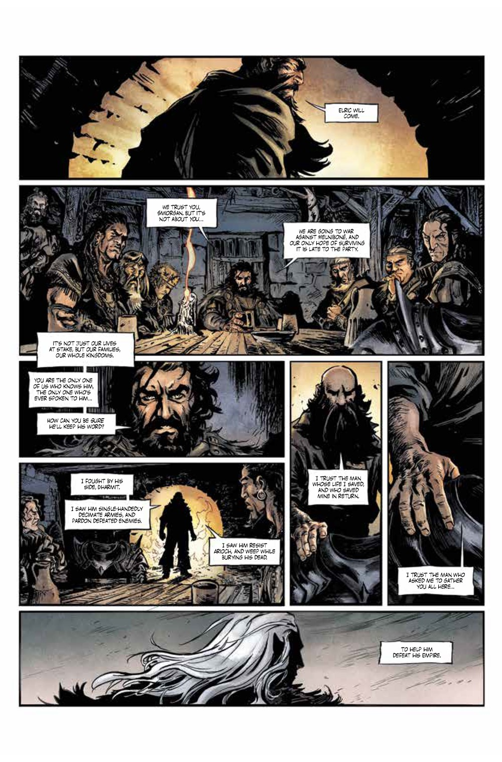 Pages-from-Elric1_complete_Page_2 ComicList Previews: ELRIC THE DREAMING CITY #1