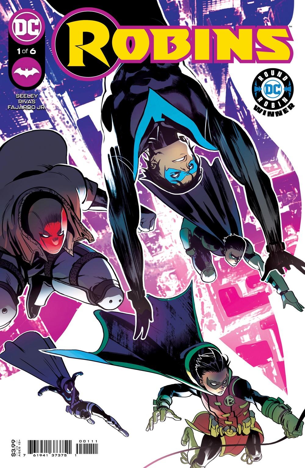 ROBINS_Cv1 DC Comics November 2021 Solicitations