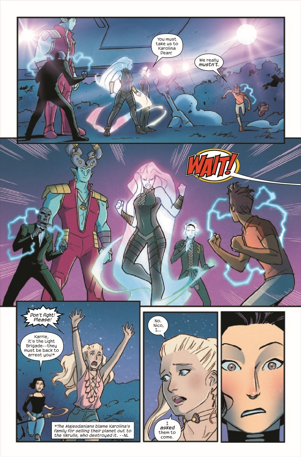RUNAWY2017038_Preview-6 ComicList Previews: RUNAWAYS #38