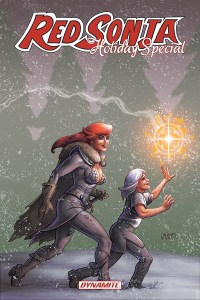 RedSonja-HolidaySpecial-01011-A-Linsner_1-200x300 VAMPIRELLA and RED SONJA to receive 2021 Holiday Specials