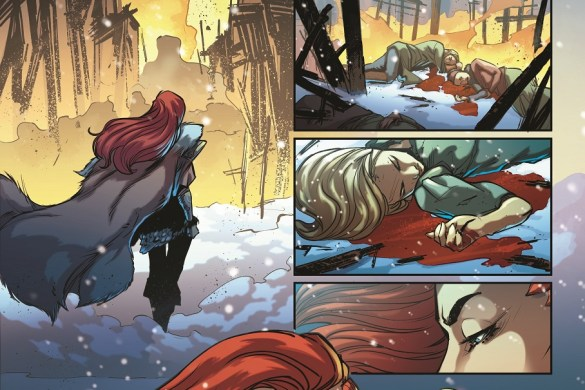 RedSonja_Madre__1_008_inks Mirka Andolfo's RED SONJA #1 sells out at distributor level