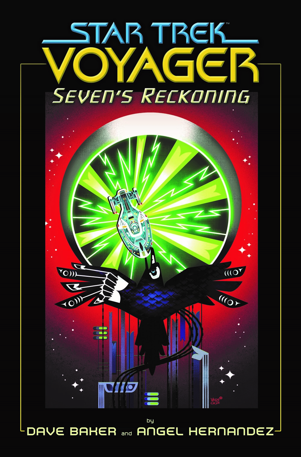 STVoyager_SR_TPB-cover5 ComicList Previews: STAR TREK VOYAGER SEVEN'S RECKONING TP