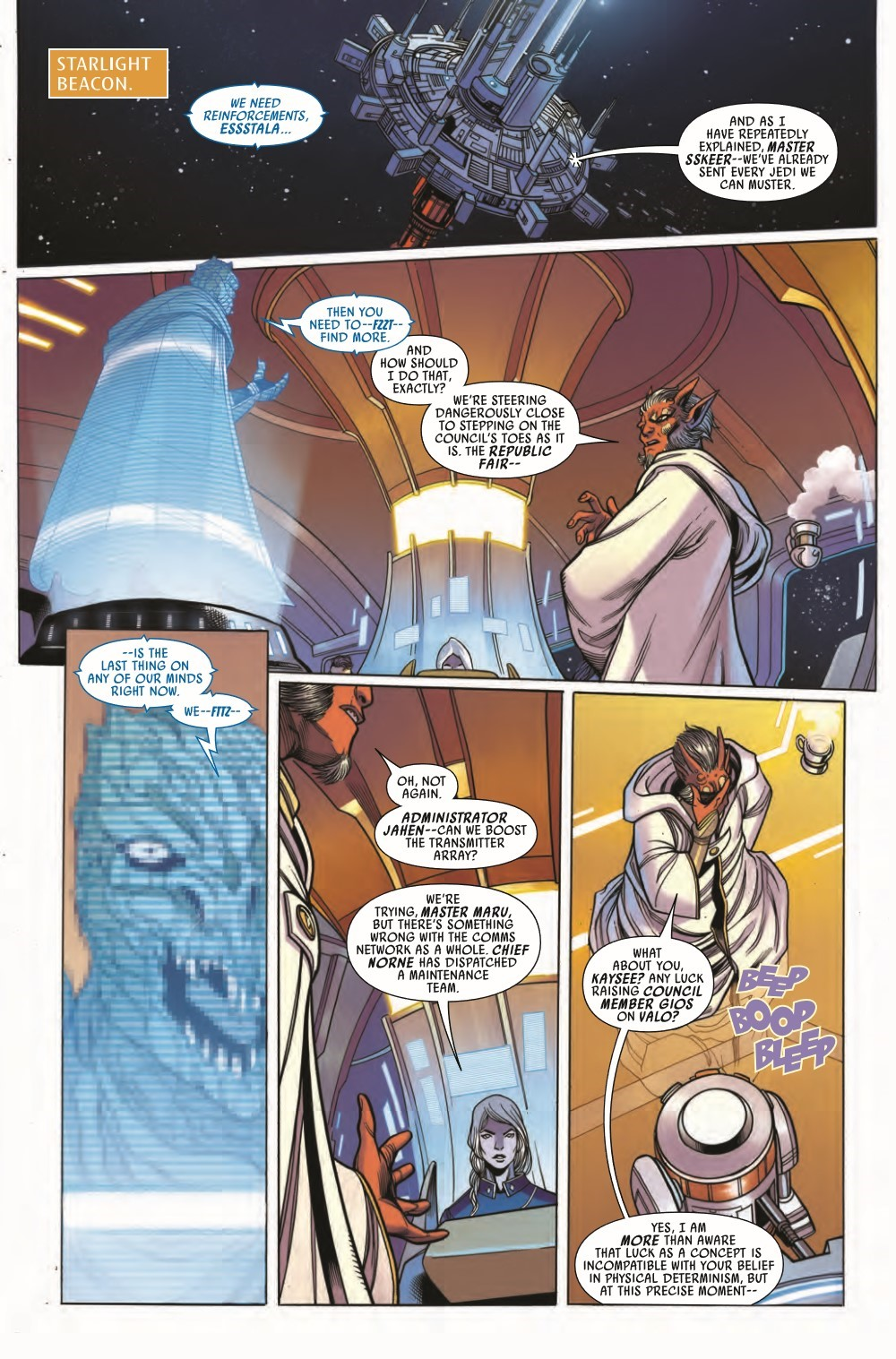 STWHIGHREP2021008_Preview-3 ComicList Previews: STAR WARS THE HIGH REPUBLIC #8