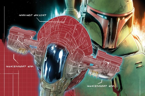 STWWAROTBH2021004_Blueprint_Cover All six Star Wars BOUNTY HUNTER SHIP BLUEPRINT COVERS released