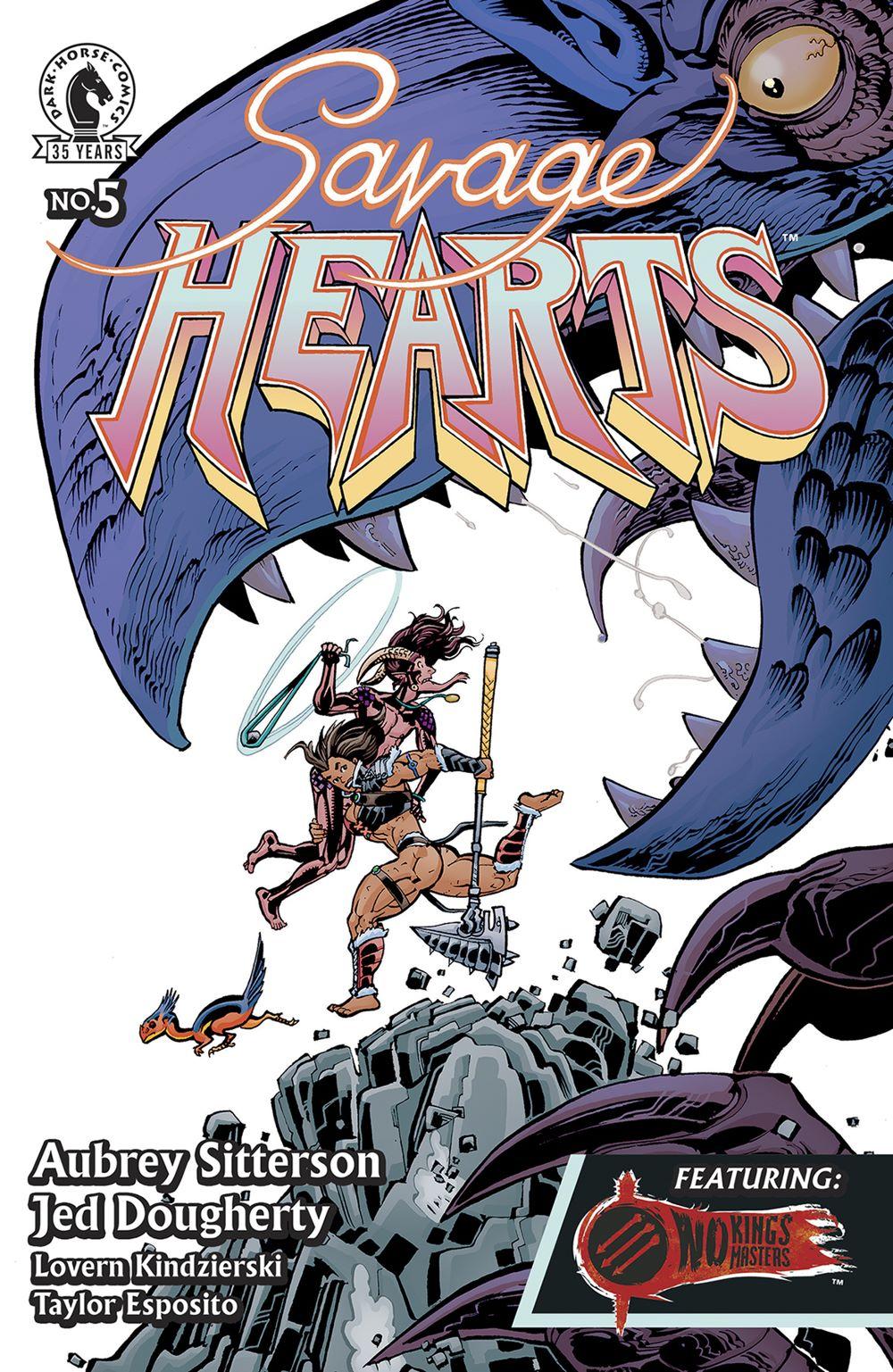 SVHRTS_i5_CVR_4x6_SOL_TIPSHEET Dark Horse Comics November 2021 Solicitations