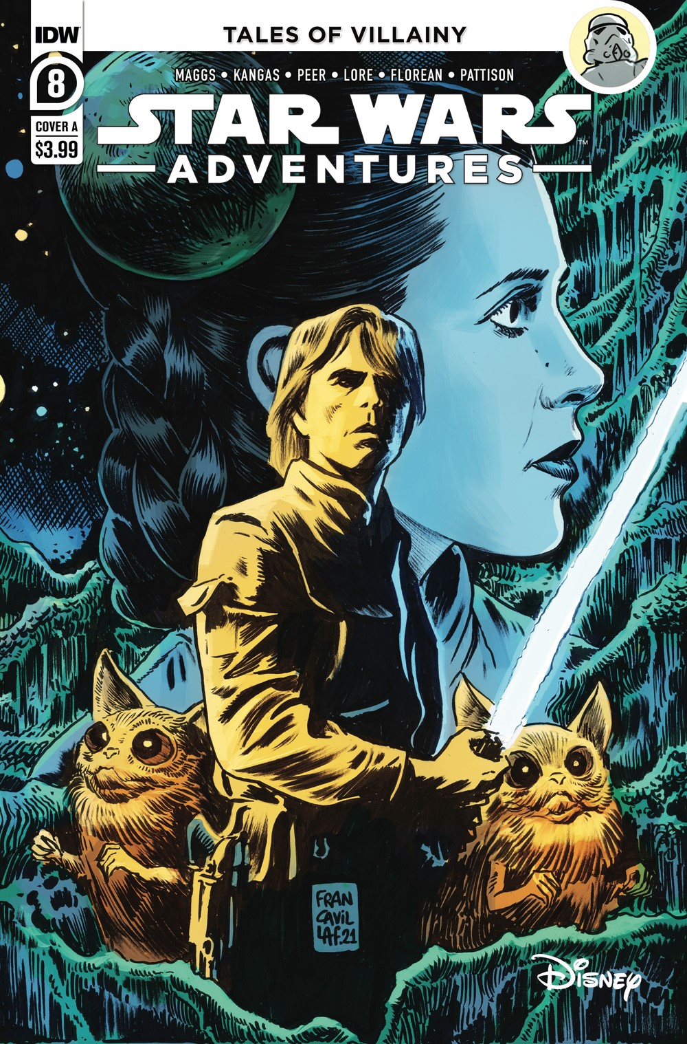 SWA-08-Cover-A ComicList: IDW Publishing New Releases for 08/18/2021