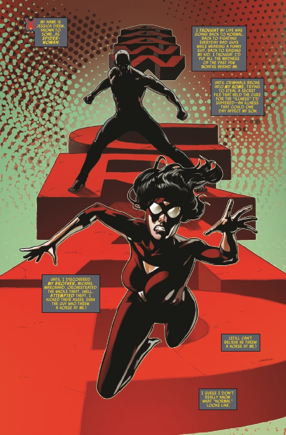 SWOMAN2020014_Preview-3 ComicList Previews: SPIDER-WOMAN #14
